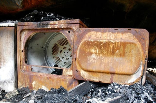 Dryer Fire - Air Duct Cleaning Services